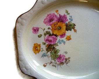 Vintage Crooksville Platters China Serving Platter Pattern 1238 Pantry Bake-In Set of 2 Replacement China Crooksville China Housewares