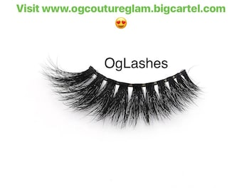OgLashes Mink False Eyelashes
