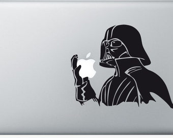 Sticker Macbook - Lord Vader - Decal for MacBook Air Pro Retina - 11 12 13 15 or 17 inches - Skin for macbook easy to stick