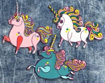 Prancing Ponycorn Magical Patch Set