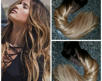 Balayage Remy, Clip-In Extensions, 220 Grams, 24 inches SALE