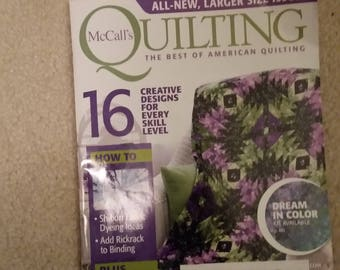 McCall's Quilting Magazine March/April 2017