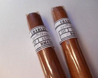 Groomsman Cigar Bands - Grooms Gift - Wedding Party and Groomsman Cigar Bands - Wedding Reception Cigar Bar - Cigar Station