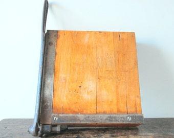 SALE Antique Ingento Paper Cutter, 1910
