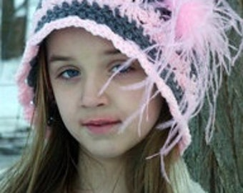 Nostalgia Womens and Teen Hat Crochet Pattern