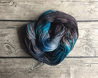 Bibbidy-Bobbidy-Boo - Hand Dyed Superwash Merino Yarn - Sport Weight Yarn - Hand Dyed Yarn