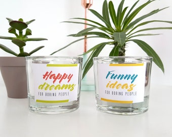 Choose from with candle tealight