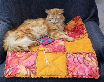 Cat Blanket, Small Dog Bed, Cat Bed, Handmade Cat Bed, Pet Bedding, Pet Supplies, Pet Blankets, Cat Accessories, Furniture Cover Sofa Cover