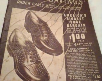 1937 Sears Roebuck and Co. Summer catalog.