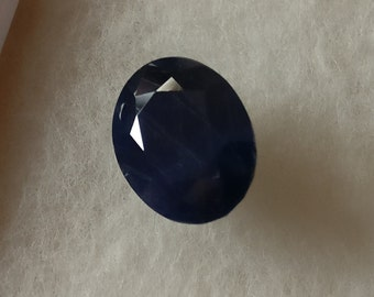 Natural Blue Sapphire 8.50 X 10.50 MM Oval Faceted