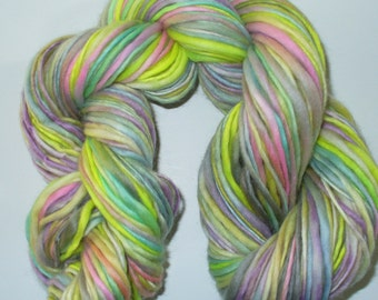 Hand Spun Hand Dyed Wool Yarn for Knitting Yarn