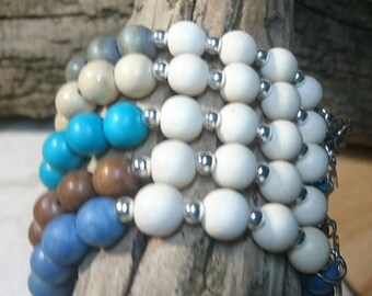 Choose your colour Boho Stacking Bracelets