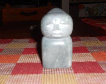 Man Bird  soapstone carving sculpture
