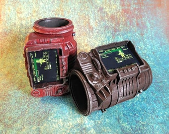 PipBoy 3000 | 3D Printed Pip Boy 3000 | Fallout Cosplay Prop | Fallout Costume | Fallout 4 | Fallout 3 | Pip Boy Replica | Fallout Glove