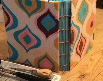 Jumbo Handmade Coptic Stitch Journal