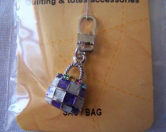 Pull for zipper bag (90719) pattern
