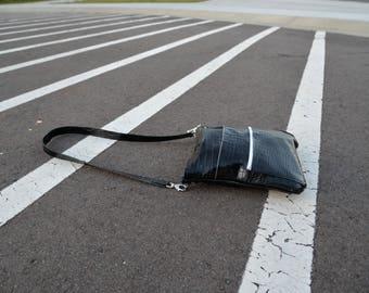 Crossbody, Many Zippers Leather handbag