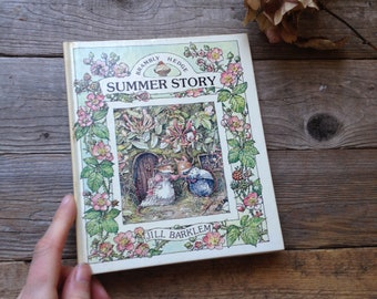 Brambly Hedge Book - Watercolour Artist - Painting book - Gift for artist - Creative gift - Botanical Book - Wildflowers