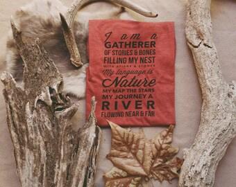 The Gatherer Tee - Unisex