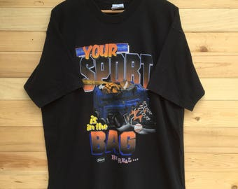 Rare!! Vintage Your Sport T Shirt By Looney Tunes Size XL
