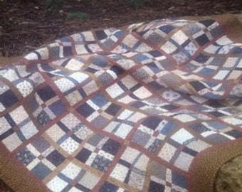 SALE!! Jefferson Square Quilt Pattern by Shop Girl Quilts