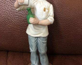Ceramic/Clay/Porcelain Woman Figurine