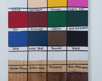 NEW     COLOR CHART