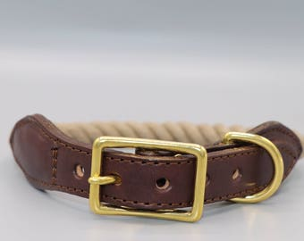 "Twined Collar ""Brown"""