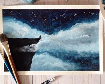 """Original - 18""""x12"""" Watercolor Painting- """"Wonder"""""""