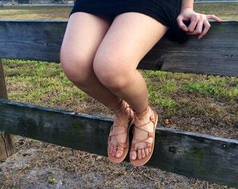 Leather sandals, women sandals, greek sandals, gladiator sandals, tie up sandals, lace up sandals, lace up gladiator sandals,