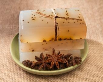Anise - Moisturizing Glycerin Soap - Powerfully Fragrant