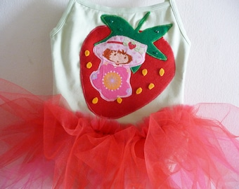 STRAWBERRY SHORTCAKE TUTU - Strawberry Shortcake Birthday - Birthday Tutu