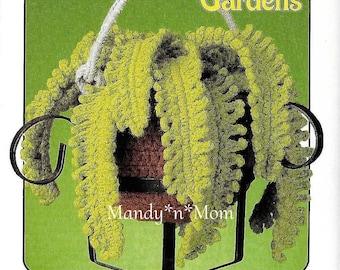 Hanging Gardens - 87D03 - Boston Fern – Out of Print - PDF - Crochet Pattern