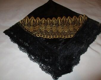 Large Handkerchief/Church Lap Throw