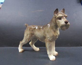 Vintage Wirehaired Fox Terrier dog