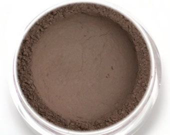 "Taupe Matte Eyeshadow - ""Skylark"" - Gray Brown Vegan Mineral Makeup"