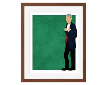 Doctor Who print - the Twelfth Doctor/Peter Capaldi