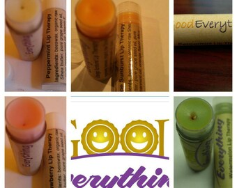 Handmade, Natural Lip Balms