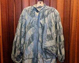 1980s // QUILTED NORTHERN // Vintage EJ Harper Size M Jacket