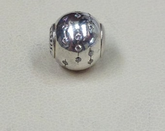 Authentic Pandora Essence Collection Silver Charm Trust #796019CZ