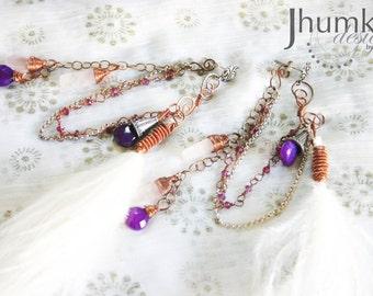 Mukta /// Earrings by Jhumki -designs by raindrops