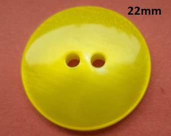 8 buttons 22 mm yellow (726) button