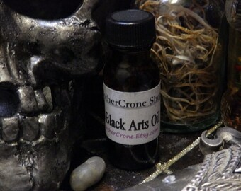 Black Arts Oil Wicca Pagan Spirituality Religion Ceremonies Hoodoo Metaphysical MaidenMotherCrone