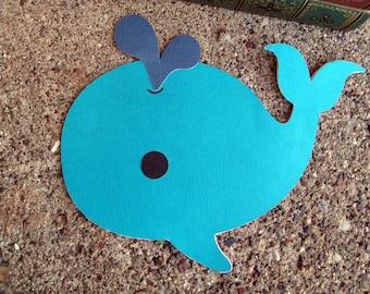 Whale Greeting Card - Blank