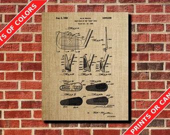 Golf Poster Golf Iron Patent Print Golfer Gift Golf Wall Art Golf Club Blueprint