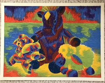 Teddy Bears Drawing
