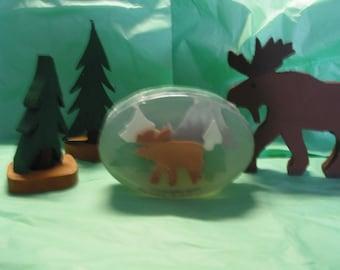 Moose Soap in Cedar Wood and Fir