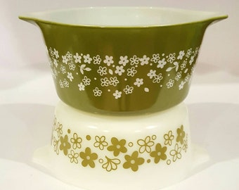 Pyrex Spring Blossom Casserole Dishes