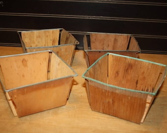 Vintage Berry Containers - set of 4 - item 2847-6