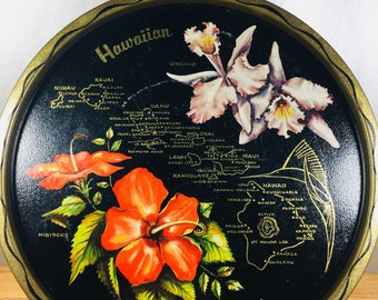 Hawaiian Islands Souvenir Tray